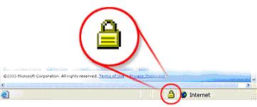 Computer Screen - Lock